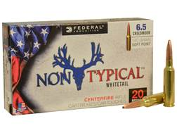 Federal Non-Typical Ammunition 6.5 Creedmoor 140 Grain Soft Point Boat Tail Box of 20