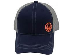 Beretta Men's Trident Logo Trucker Hat Polyester/Nylon Navy