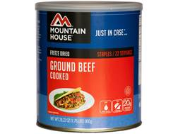 Mountain House 22 Serving Ground Beef Freeze Dried Food #10 Can