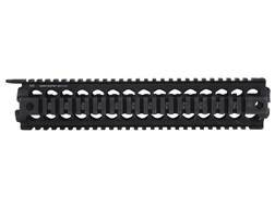 Midwest Industries 2-Piece Gen 2 Handguard Quad Rail AR-15 Rifle Length Aluminum Black