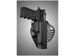 Hogue ARS Stage 1 Holster Outside the Waistband (OWB) Right Hand Beretta 92, 96 Polymer Carbon Fi...