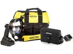 Lightforce Enforcer 170 Halogen Walk Pack Handheld Spotlight with Rechargeable LiFeP04  Battery P...