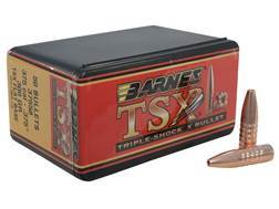 Barnes Triple-Shock X (TSX) Bullets 375 Caliber (375 Diameter) 300 Grain Hollow Point Flat Base L...
