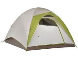 """Kelty Yellowstone 6 6 Person Dome Tent 120"""" x 108"""" x 77"""" Polyester White and Lime Green"""
