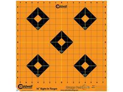 "Caldwell Orange Peel 16"" Self-Adhesive Sight-In Target"
