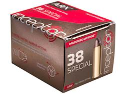 PolyCase Inceptor Preferred Defense Ammunition 38 Special 77 Grain Frangible ARX Lead-Free