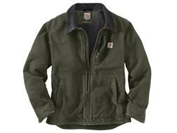 Carhartt Men's Sandstone Full Swing Sherpa Lined Jacket Cotton