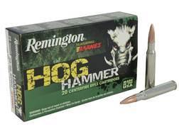 Remington Hog Hammer Ammunition 30-06 Springfield 168 Grain Barnes Triple-Shock X Bullet Hollow P...