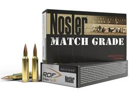 Nosler Match Grade Ammunition 22 Nosler 70 Grain RDF Hollow Point Boat Tail Box of 20