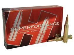 Hornady Superformance SST Ammunition 7mm Remington Magnum 139 Grain SST Box of 20