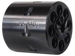 Story 8-Round Conversion Cylinder Ruger New Single Six 22 Winchester Magnum Rimfire (WMR) Steel Blue