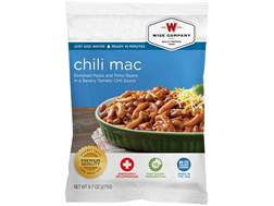 Wise Food Long Term 25 Year 4 Serving Chili Macaroni Freeze Dried Food