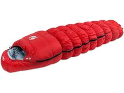 Klymit KSB 20 Degree Down Sleeping Bag Polyester Red