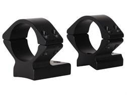 """Talley Lightweight 2-Piece Scope Mounts with Integral 1"""" Rings Remington 700 Extra Low Matte- Ble..."""