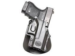 Fobus Paddle Holster Right Hand Glock 29, 30, 39, S&W 99, Sigma V-Series Polymer Black