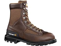 "Carhartt 8"" Waterproof Work Boots Leather"