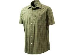 Beretta Men's Drip Dry Shirt Short Sleeve Cotton