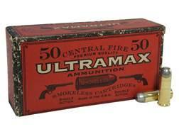 Ultramax Cowboy Action Ammunition 45 Colt (Long Colt) 250 Grain Lead Flat Nose Box of 250