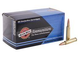 Black Hills Remanufactured Ammunition 223 Remington 69 Grain Sierra MatchKing Hollow Point Boat T...