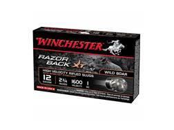 """Winchester Razor Boar XT Ammunition 12 Gauge 2-3/4"""" 1 oz Segmenting Slug"""