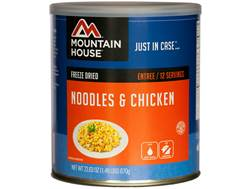 Mountain House 12 Serving Noodles and Chicken Freeze Dried Food #10 Can