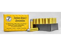 Jamison Ammunition 32 H&R Magnum 100 Grain Lead Round Nose Flat Point Box of 20