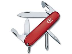 Victorinox Swiss Army Tinker Folding Pocket Knife 10 Function Stainless Steel Blade Polymer Handl...