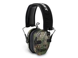 Walker's Razor Slim Quad Electronic Earmuffs (NRR 23dB) Realtree Xtra