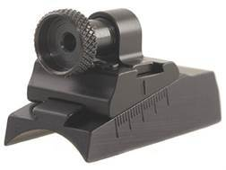 Williams WGRS-T/C Guide Receiver Peep Sight Thompson Center Contender, Contender G2 Aluminum Black