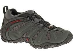 "Merrell Chameleon Prime Stretch 4"" Waterproof Hiking Shoes Leather/Mesh Granite Men's 8 D"