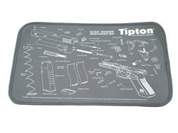 "Tipton Glock Gun Cleaning and Maintenance Mat 11"" x 17"" Gray"