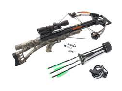 Carbon Express SLS Crossbow Package with Scope Kryptek Highlander Camo