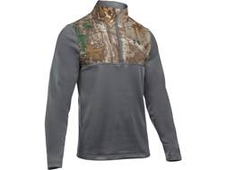 Under Armour Men's UA Caliber 1/4 Zip Shirt Long Sleeve Polyester