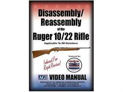 "American Gunsmithing Institute (AGI) Disassembly and Reassembly Course Video ""Ruger 10/22 Rifles""..."