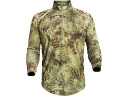 Kryptek Men's Helios Shirt 1/4 Zip Long Sleeve Polyester
