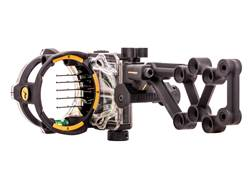"Trophy Ridge React H5 5-Pin Bow Sight with Light .019"" Pin Diameter Right Hand"