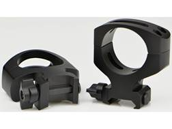 Warne MSR 2-Piece 34mm Quick-Detachable Picatinny-Style Rings Matte MSR Height