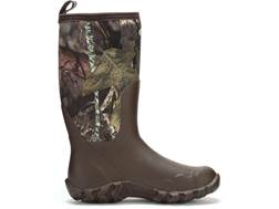 "Muck Woody Blaze Cool 15"" Rubber Uninsulated Hunting Boots Rubber/Synthetic Mossy Oak Break-Up Co..."