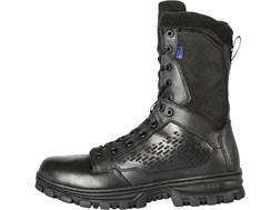 """5.11 EVO 8"""" Side Zip Waterproof Uninsulated Tactical Boots Leather and Nylon Black Men's"""