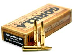 Gorilla Ammunition 300 AAC Blackout 110 Grain LeHigh Controlled Chaos Lead-Free