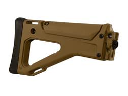 Bushmaster Fixed Stock Assembly Bushmaster ACR Polymer Coyote Brown