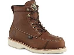 "Irish Setter 838 Wingshooter 7"" Waterproof Hunting Boots Leather Amber Men's 9.5 EE- Blemished"