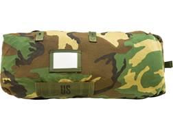 Military Surplus Chemical Protective Bag Woodland Camo