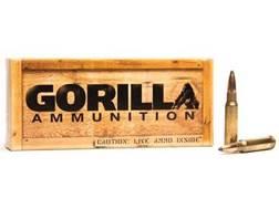 Gorilla Ammunition 308 Winchester 165 Grain Sierra GameKing Spitzer Boat Tail Box of 20