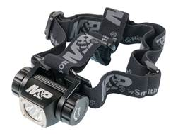 Smith & Wesson Delta Force HL-10 Headlamp LED with 3 AAA Batteries Aluminum Black