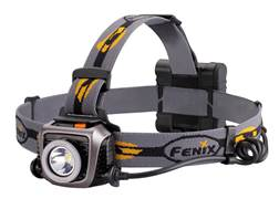 Fenix HP15UE Ultimate Edition Headlamp LED with 4 AA Batteries Aluminum Gray