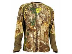 ScentBlocker Men's 1.5 Performance Crew Shirt Long Sleeve Polyester Realtree Xtra Camo Medium 38-40