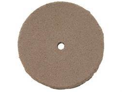 "Cratex Abrasive Wheel Flat Edge 7/8"" Diameter 1/8"" Thick 1/16"" Arbor Hole Fine Bag of 20"