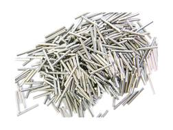 National Metallic Brass Cleaning Media Stainless Steel Pins 2.5 lb Plastic Jar