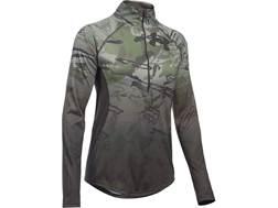Under Armour Women's UA Scent Control Tech 1/4 Zip Shirt Long Sleeve Polyester